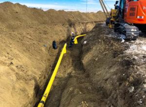 Main Line Bend Construction