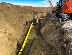 Core Services / Main Line Bend Construction